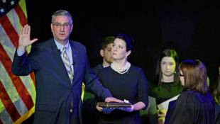 Holcomb, Four Others Inaugurated For Statewide Offices