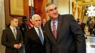 Gregg Campaign Trying To Link Pence And Holcomb