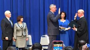 Eric Holcomb Is Indiana's New Lieutenant Governor