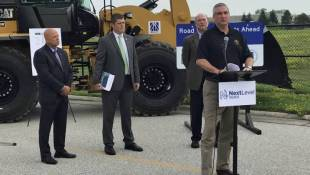 Gov. Holcomb Announces $4.7 Billion, Five-Year Road Plan