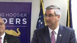GOP Governor Nominee Holcomb Gives Slim Insight On Educational Policy In First Press Conference