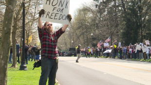 Coronavirus: Holcomb To Extend 'Stay-At-Home,' Protesters Push To Reopen Economy