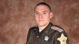 Procession Takes Slain Indiana Deputy To Services Site