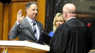 Todd Huston Sworn In As Indiana's Newest House Speaker