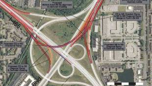 $50 Million Upgrade Coming to I-465, I-69 Interchange