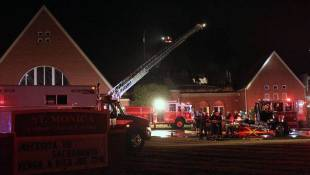 Indianapolis Church Building Damaged By Fire