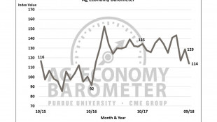 Ag Economy Barometer Falls To Lowest Level In Two Years