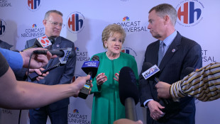Tom Hanks, Elizabeth Dole Honor Veteran Caregivers