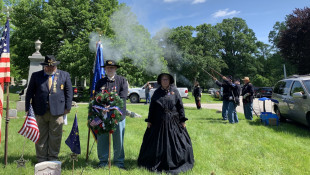 Union Solider Honored At Indy Memorial Day Event