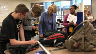 Betsy DeVos Visits Indianapolis Charter School on National School Tour