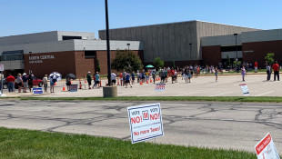 Election Day: Long Lines, Absentee Issues And Passionate Voters