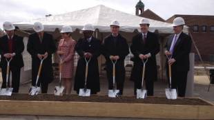 Red Cross Breaks Ground On New Headquarters