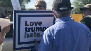 Protesters, President Trump Supporters Face Off In Elkhart