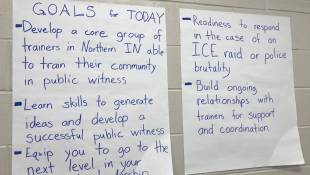 Nonprofit Hosts Protest Seminar In Elkhart County