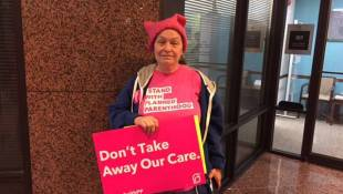 Planned Parenthood Supporters Rally Against Medicaid Cuts