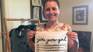 DIY Screen Printer Stephanie Renner Is Making It