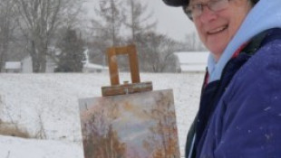 Graphic Designer Mary Ann Davis Transitions To Plein Air Painting