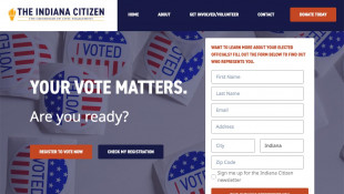 A new nonprofit hopes to turn around Indiana's low voter registration and turnout with the launch of a voter engagement effort called the Indiana Citizen. - indianacitizen.org