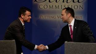 Young, Stutzman Try To Define Themselves In Lone GOP Senate  Debate