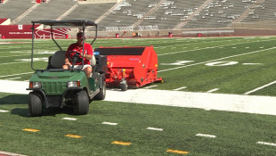 Indiana Unversity Crew Follows NFL's Lead In Implementing Field Safety Practices