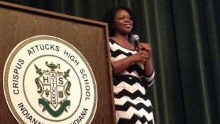 Freedom Writer Shares Story With IPS Students