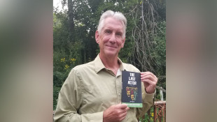 How Friend's Text Prompted This Local Author To Finish A Book He Started 25 Years Ago