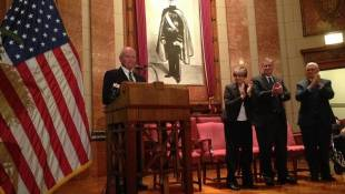 Former Governors Honored for Service