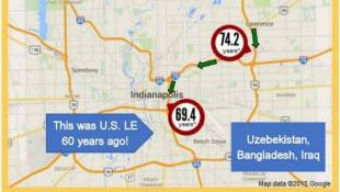 Life Expectancy In Indianapolis Metro Area Varies Widely