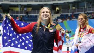 Evansville's Lilly King Swims To Gold In Rio