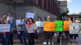Diabetics Protest Rising Insulin Prices At Drug Company Headquarters