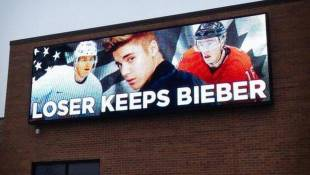 Oh No! When U.S. And Canada Face Off, 'Loser Keeps Bieber'