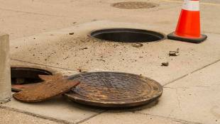 Locking Covers Installed On Downtown Indianapolis Manholes
