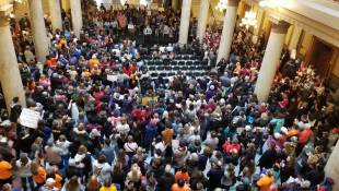 Statehouse Rally Shares Message Of National March For Our Lives
