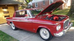 Studebaker Owner Shares Special Lark During Indiana's Bicentennial