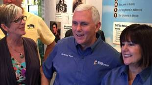 Pence Returns To Indiana For State Fair's Opening Ceremony