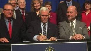 Pence Signs Bills Helping Teachers, Schools In ISTEP Aftermath