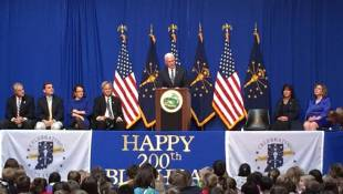 Pence Celebrates Bicentennial Statehood Day