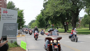 Thousands Of Motorcycle Riders Get Ready To Ride For Riley Kids