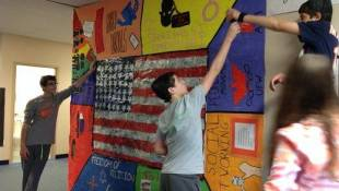 Local School Wins ACLU Art Contest