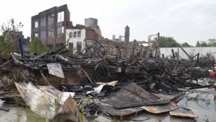 New Life for Site Destroyed by Fire