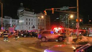 State Rep., Daughter Critically Injured In Downtown Crash