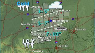 Winter Storm Warning Issued For Central Indiana