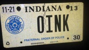 Indiana Supreme Court To Decide Future of Personalized License Plates