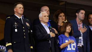 Trump Defends Pence's NFL Protest Amid Claims It Was A Publicity Stunt
