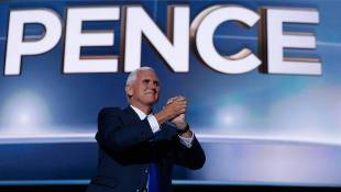 Pence Officially Accepts Nomination As GOP Vice Presidential Candidate