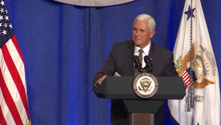 Pence Stumps For Braun At Indianapolis Fundraiser