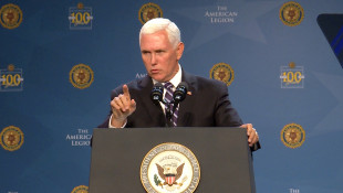 Pence Makes Case For 2020 Election At American Legion National Convention