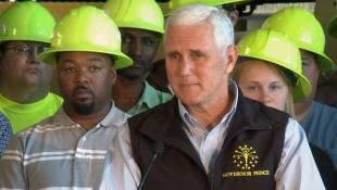 Gov. Mike Pence Unveils $1 Billion Road Funding Proposal