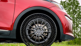 GM, Michelin Take The Air Out Of Your Tires