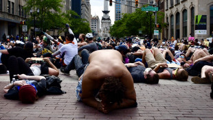 Hundreds Of Protesters Stage Die-In At City-County Building, March To Statehouse